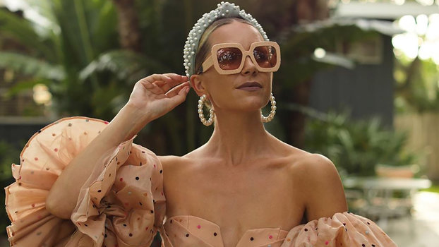 Instagram Found a $10 Dupe for ThisPopular, Influencer-Loved Pearl Headband