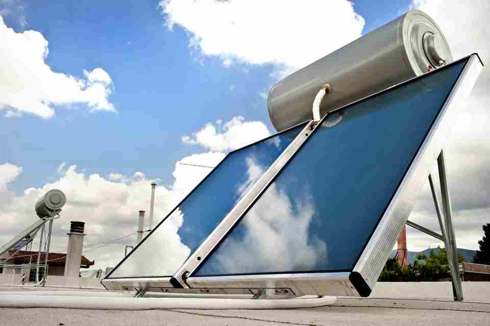 Common problems with solar water heaters